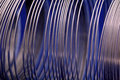 Metal Coil Stock Image