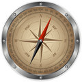 Metal compass Royalty Free Stock Photos