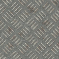 Metal diamond plate abstract industrial background Stock Photo
