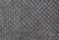 Metal diamond plate background of Stock Image