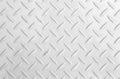 Metal diamond plate Royalty Free Stock Photo