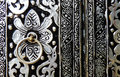 Metal door Stock Image