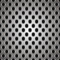 Metal dots texture Stock Images