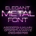 Metal Elegant Font