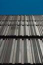 Metal facade Royalty Free Stock Photos
