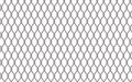 Metal fencing mesh over white background illustration Royalty Free Stock Photo