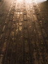 Metal floor on military plane Royalty Free Stock Photo