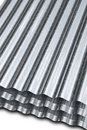 Metal galvanized sheet Stock Image
