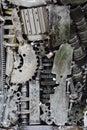 Metal gears background