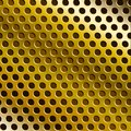 Metal golden background Stock Image