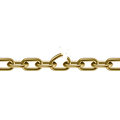 Metal golden broken chain 3D. Freedom concept