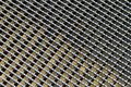 Metal grid pattern Royalty Free Stock Photo