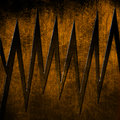 Metal grunge effects sharp edge background Stock Photography