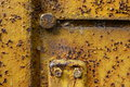 Metal with heavy rust Royalty Free Stock Photo