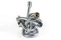 Metal hose pipe Royalty Free Stock Photo