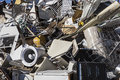 Metal junk pile for recycling Royalty Free Stock Photo