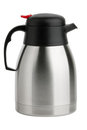Metal Kettle-Thermos with spout Royalty Free Stock Image