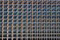 Metal lattice Stock Image