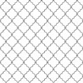 Metal lattice Stock Photo