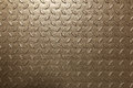 Metal leaves background brown shiny with embossed leaf pattern Stock Images