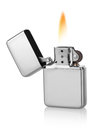 Metal lighter Royalty Free Stock Photo