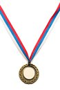 Metal medal Royalty Free Stock Photo