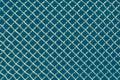 Metal mesh or aluminum grid on black background