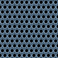 Metal Mesh Pattern Stock Image