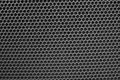 Metal mesh of speaker grill Royalty Free Stock Photo