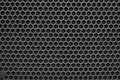 Metal mesh of speaker grill texture Royalty Free Stock Photo