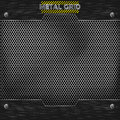 Metal mesh texture vector this is file of eps format Stock Image