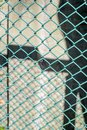 Metal mesh wire fence