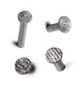 Metal nail head set