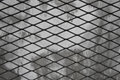 Metal net abstract background , Steel cage pattern , wall