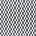 Metal net pattern a black on white background Stock Photos