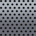 Metal with perforation light texture Royalty Free Stock Photos