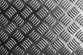 Metal plate close-up in black and white scene Royalty Free Stock Photo
