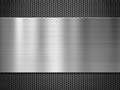 Metal Plate Over Grate Backgro...