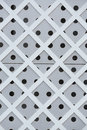 A METAL PLATES WALL Royalty Free Stock Photo