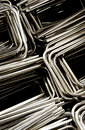 Metal product in manufacturing plant Royalty Free Stock Photo