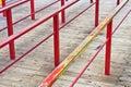 Metal railings Royalty Free Stock Photo