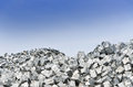 Metal recycling scarp close up Royalty Free Stock Photography