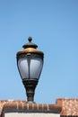 Metal retro lantern Royalty Free Stock Photos