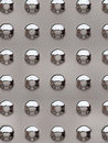 Metal rivets Stock Image