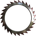 Metal saw Royalty Free Stock Photos