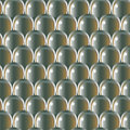 Metal scale pattern seamless volume Stock Photography