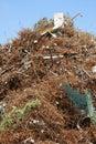 Metal scrap heap Royalty Free Stock Photo