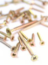 Metal screws Stock Images