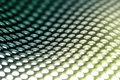 Metal sheet background in green. Stock Images