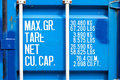 Metal Shipping Container Stock Photography